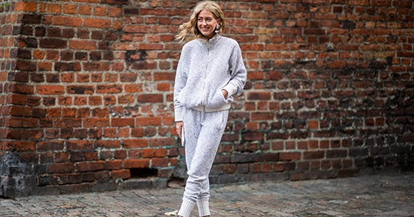 How to (keep) rocking sweats without looking like a scrub