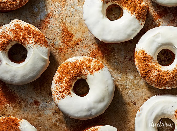easter dessert recipes carrot cake doughnuts with cream cheese glaze recipe