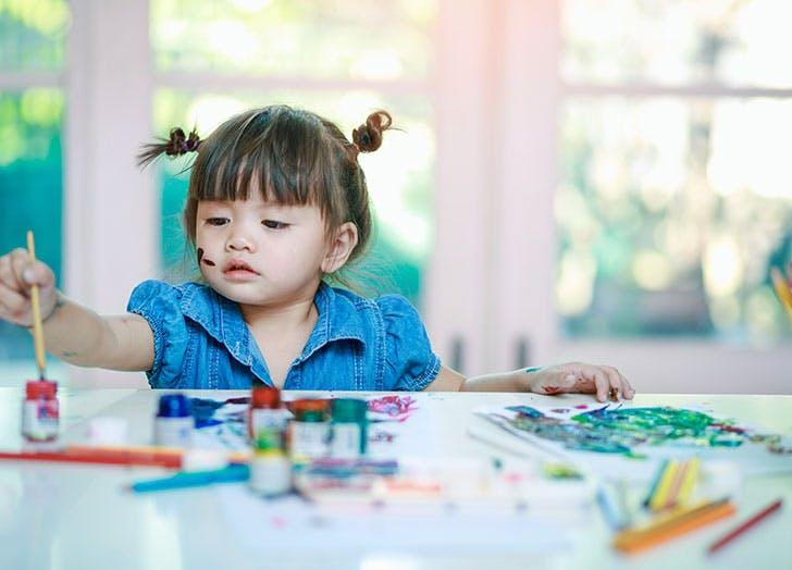 educational games for three year olds painting