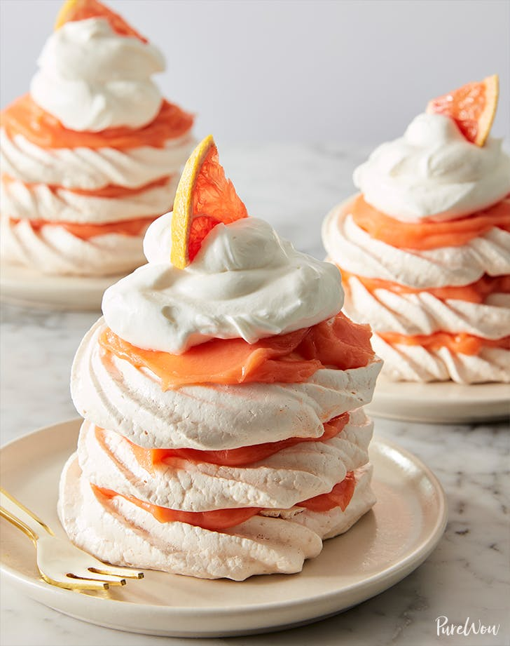 Grapefruit Meringue Stacks