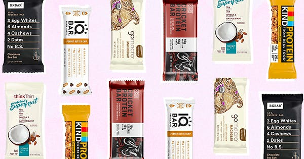 The 15 Healthiest Protein Bars You Can Buy on Amazon