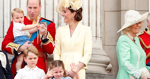 Kate Middleton Prince William Just Dressed Charlotte and Louis to Look Like Mini Versions of Themselves