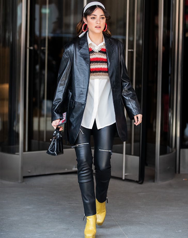 Leather Leggings Outfit 12 To Try Asap Purewow