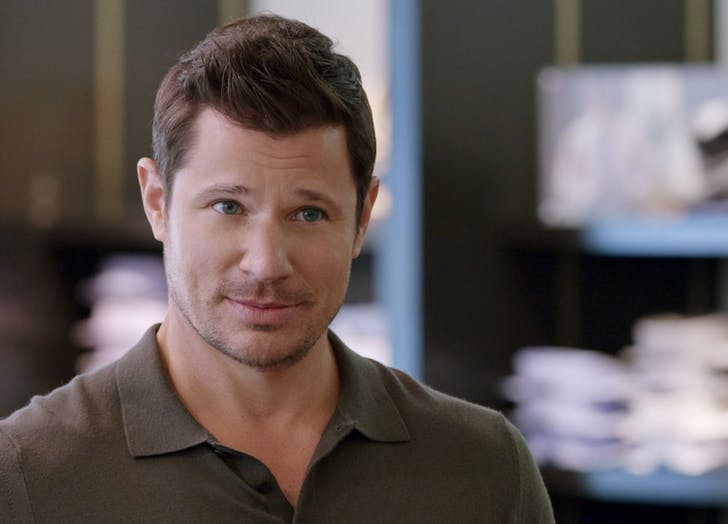 love is blind nick lachey  obviously