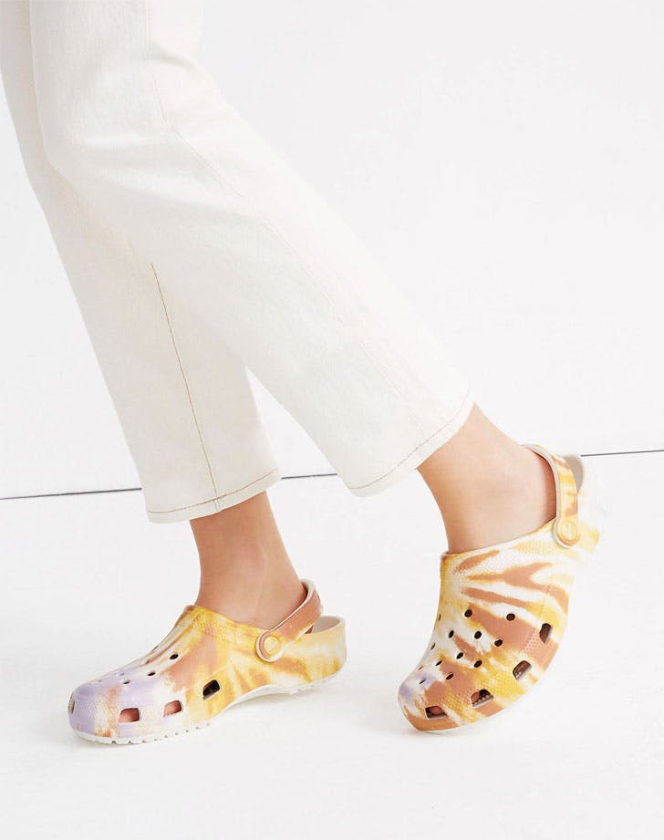 Madewell's Tie-Dye Crocs Might Just Be the Perfect WFH Shoe