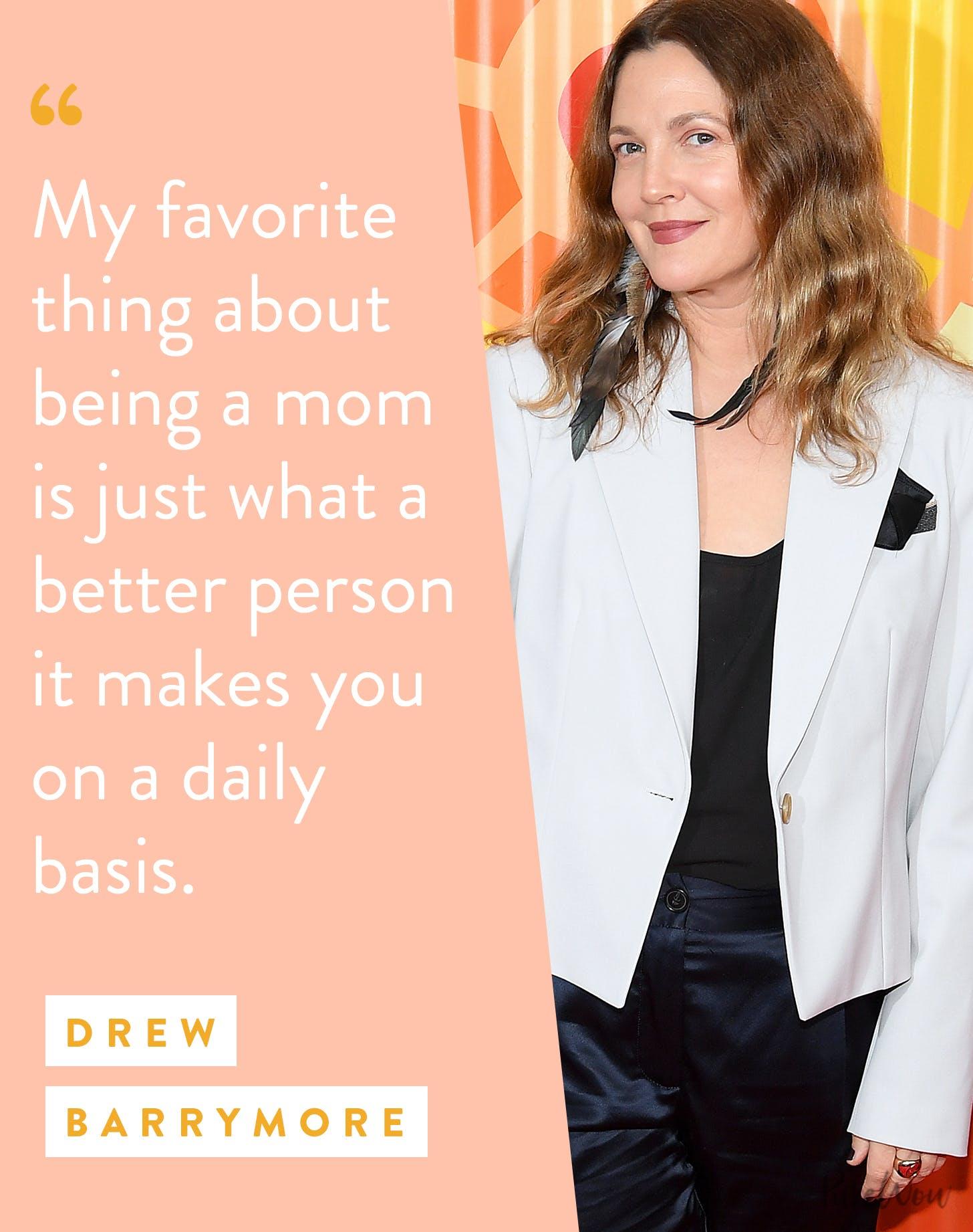 motherhood quotes drew barrymore