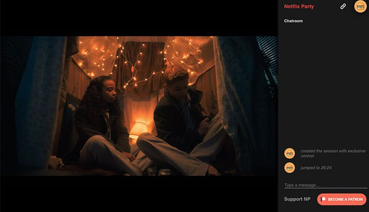You Can Now Watch Netflix (& Chat) with Your Friends, Thanks to 'Netflix Party'