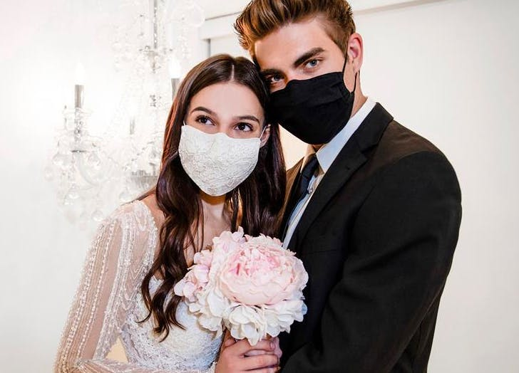 Winnie Couture Is Now Making There Are Now Making Haute Wedding Masks