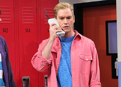 Bell saved the zack now from by Saved by