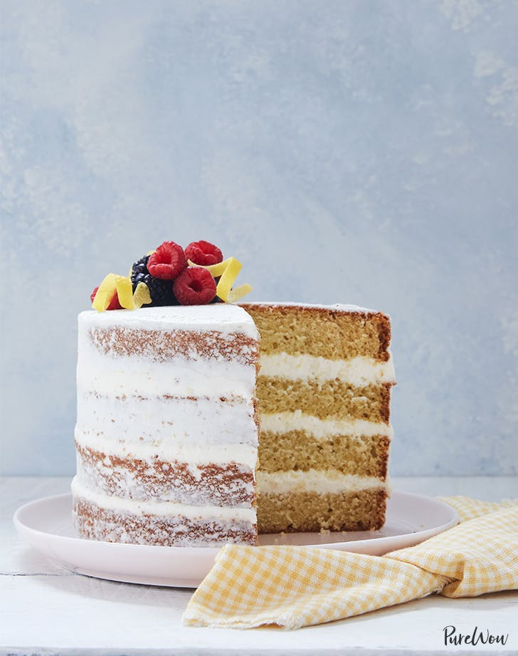 1. Naked Lemon and Olive Oil Layer Cake