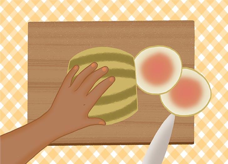 1 1 how to cut a watermelon