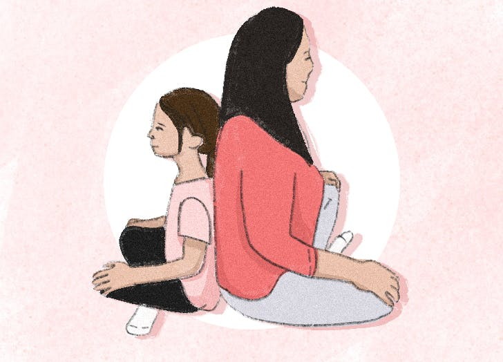 5 minute yoga flow 1