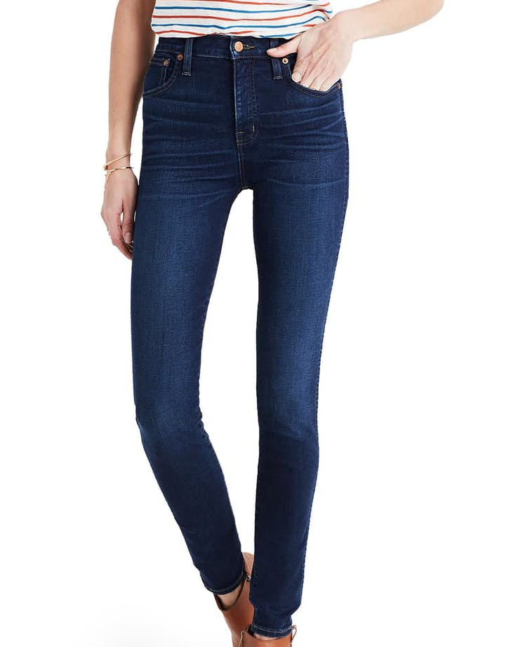 Madwell 10 22 High Rise Skinny Jeans in Hayes Wash 1