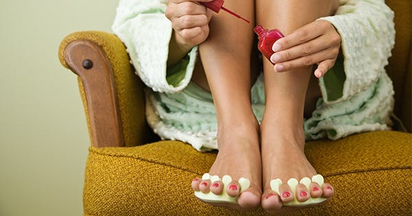 Here's How to Do an At-Home Pedicure That's Totally Salon-Worthy