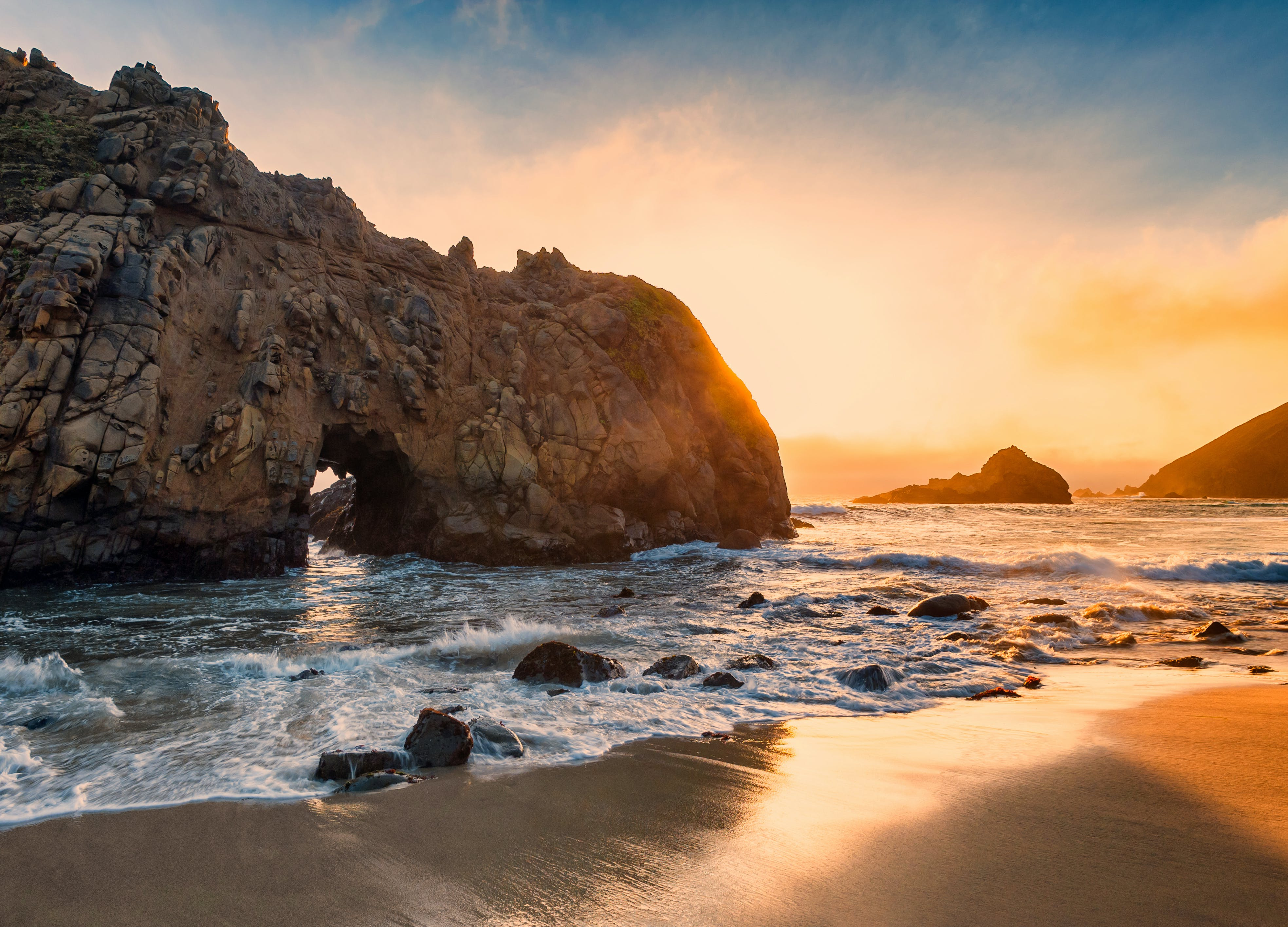 best beaches northern california pfeiffer beach1