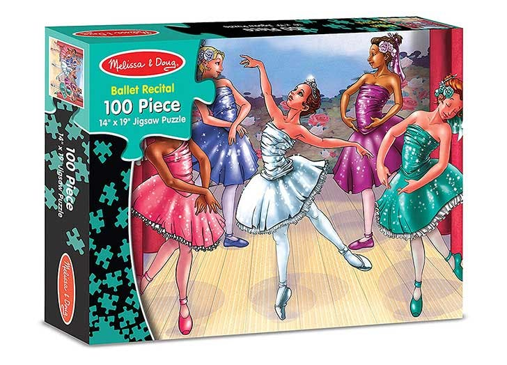 best puzzles for kids ballerina
