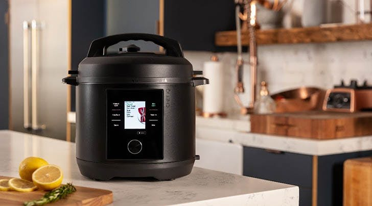 CHEF iQs New Smart Pressure Cooker Makes Cooking While WFH So Easy