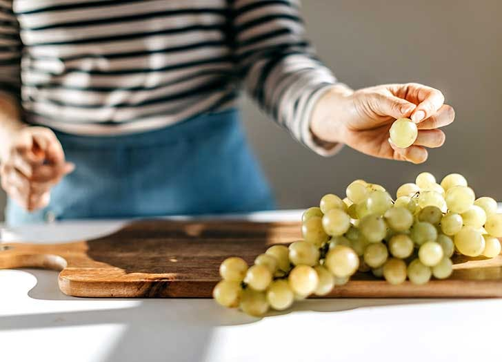 grapes clear grapes hard plastic  grapes