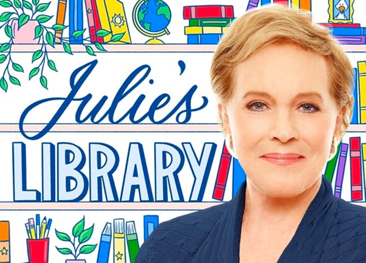 Julie Andrews's New Reading Podcast Means Mary Poppins Is Leading Story Time