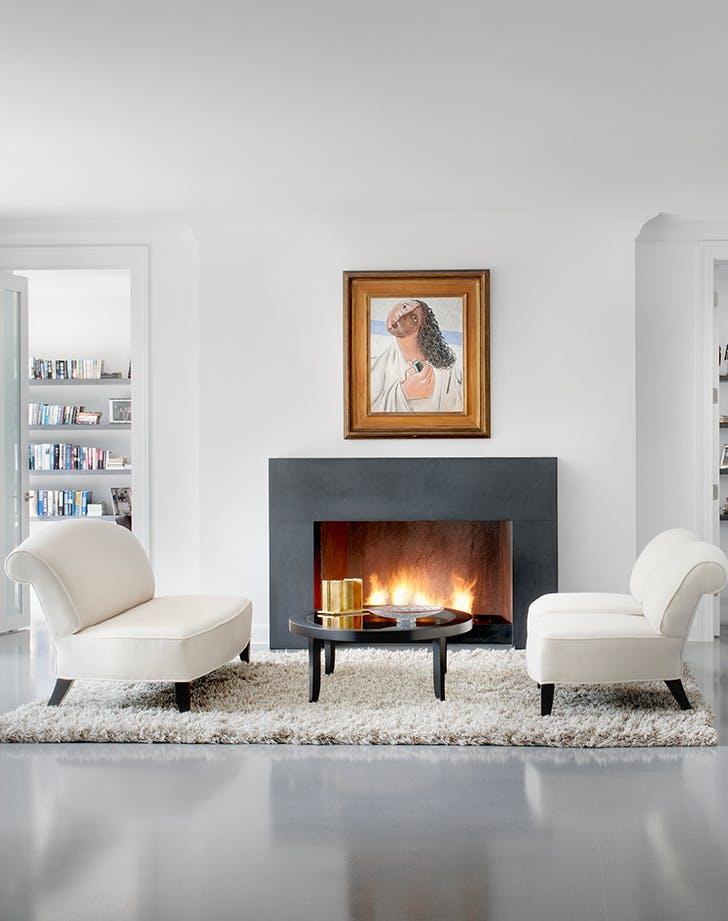 living room color ideas crisp white