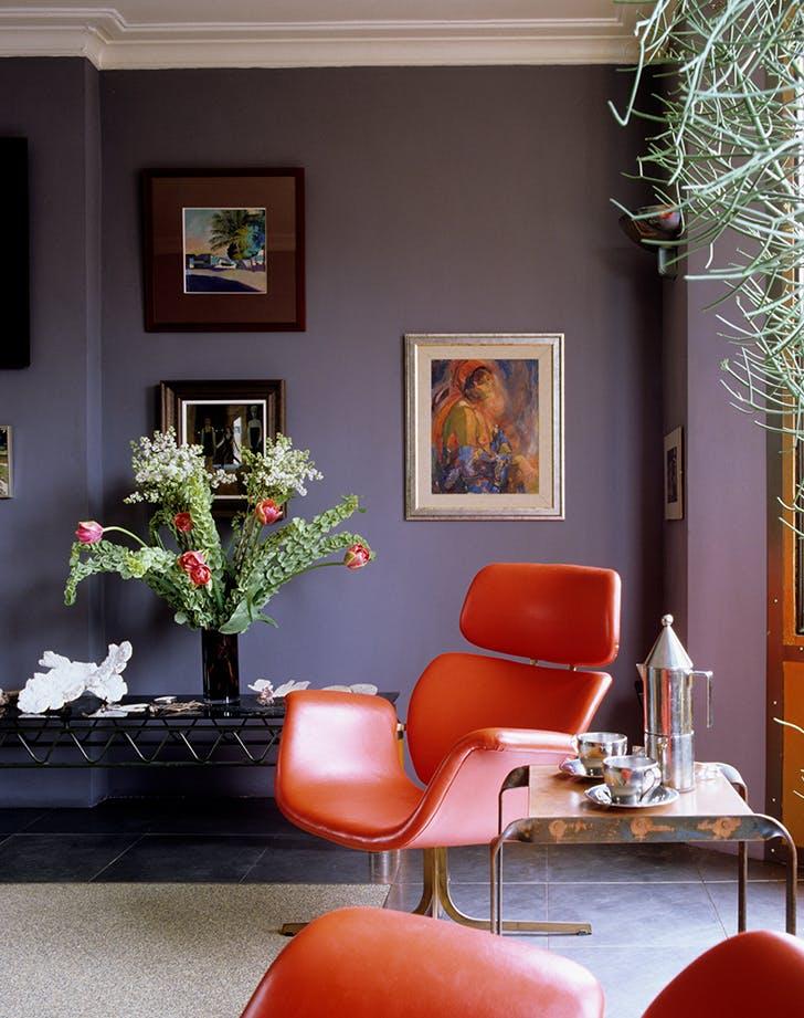 living room color ideas eggplant