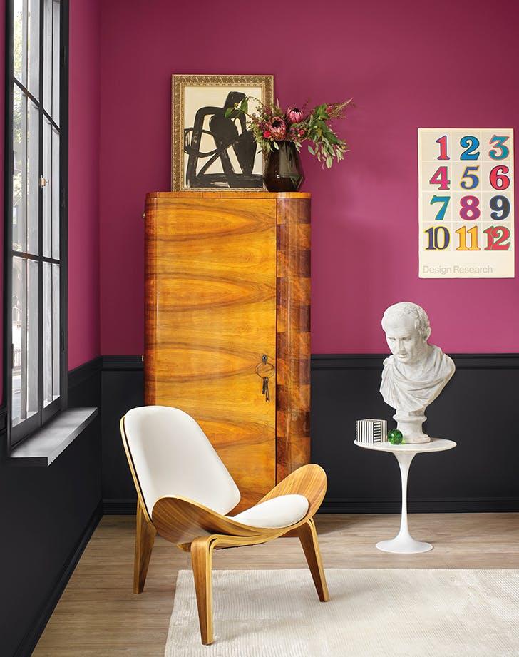 living room color ideas plum
