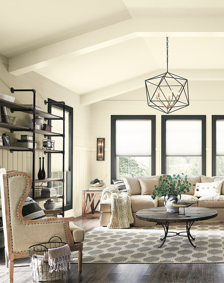 living room color ideas warm white