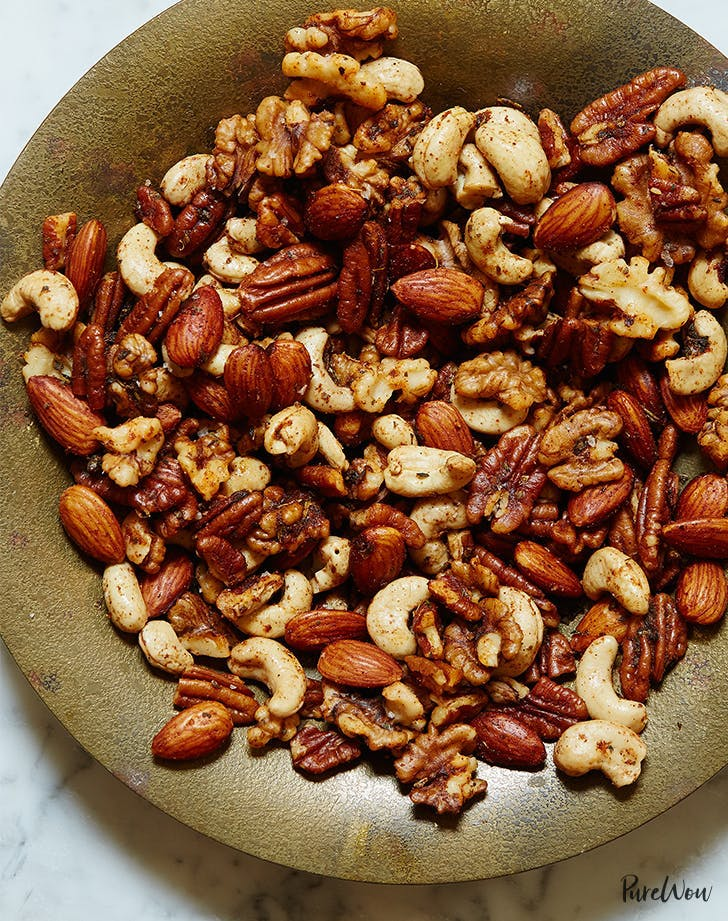 low carb snack Roasted Mixed Nuts Recipe