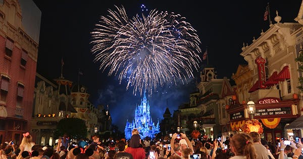 You Can Now Watch Disney's Magic Kingdom Fireworks Show at Home