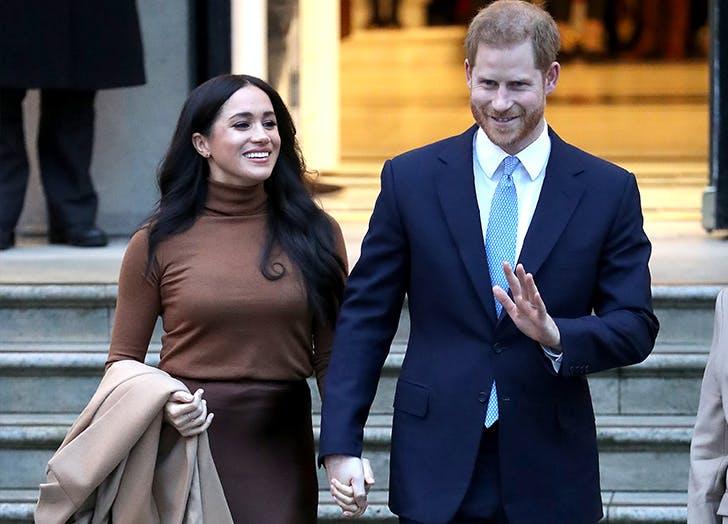 Prince Harry & Meghan Markle Were Spotted for the First Time in L.A. (& They Were Looking Casual as Ever)