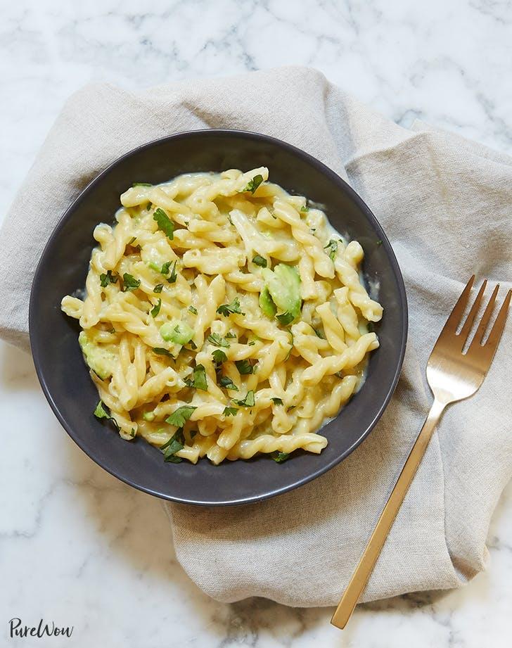 pasta recipes Jalapeno Avocado Mac And Cheese Recipe