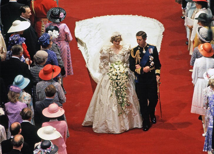 princess diana wedding details you may have missed purewow princess diana wedding details you may