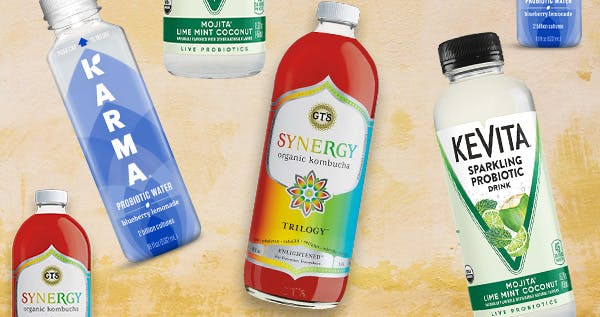 7 Probiotic Drinks That Will Help Your Gut (They Taste Good, Too)
