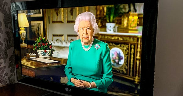The Brooch Queen Elizabeth Chose for Her Televised Address Holds a Deeper Meaning: It Symbolizes Global Unification