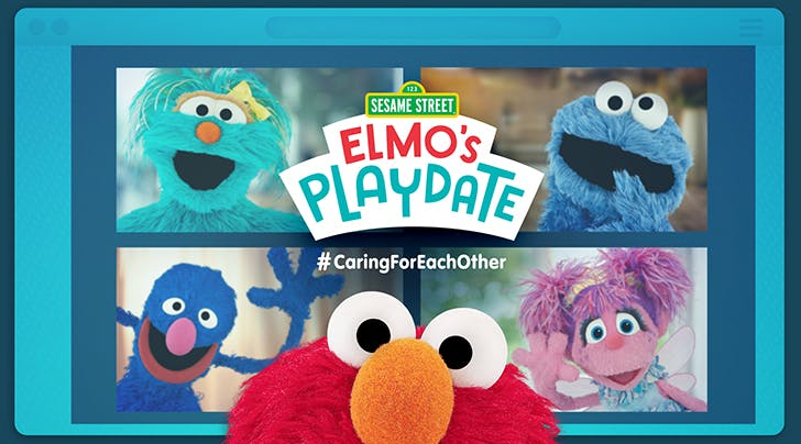 New 'Sesame Street' Special Will Star Elmo Hosting a Virtual Playdate