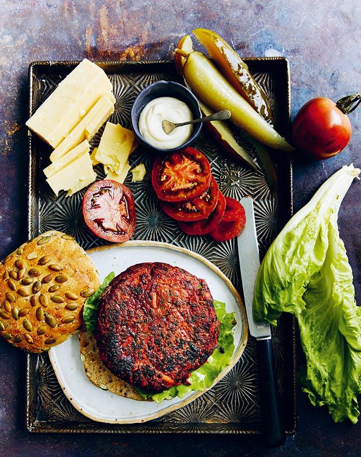 Donna Hay's Best Veggie Burgers