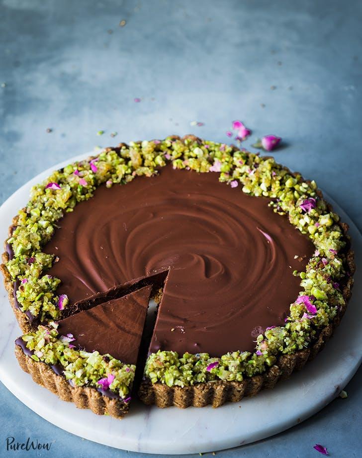 vegan gluten free recipes dark chocolate ginger tart recipe