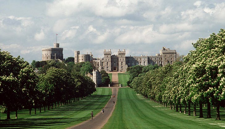 windsor castle royal family