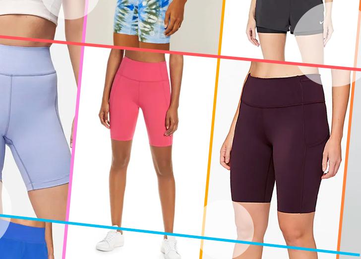 No-Chafe Workout Shorts for Women