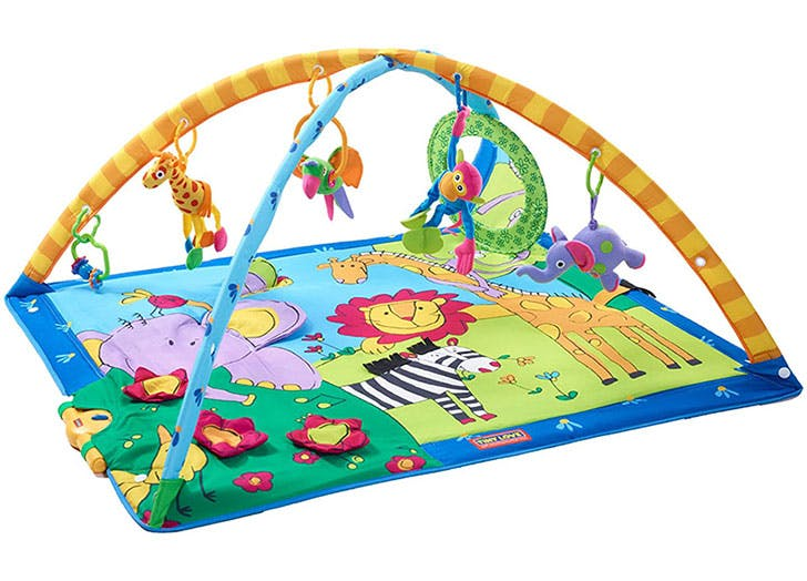 Best baby play mat activity gym tiny love