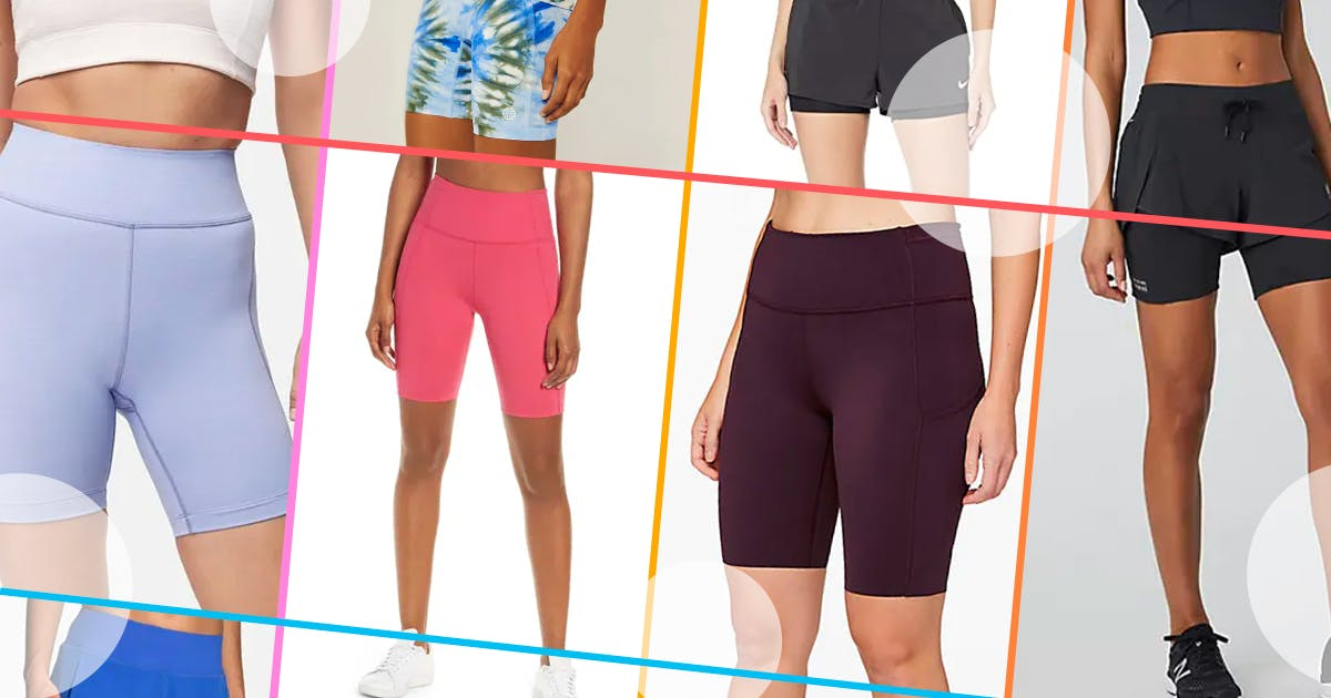 8 Pairs of Workout Shorts That Won't Chafe or Ride Up