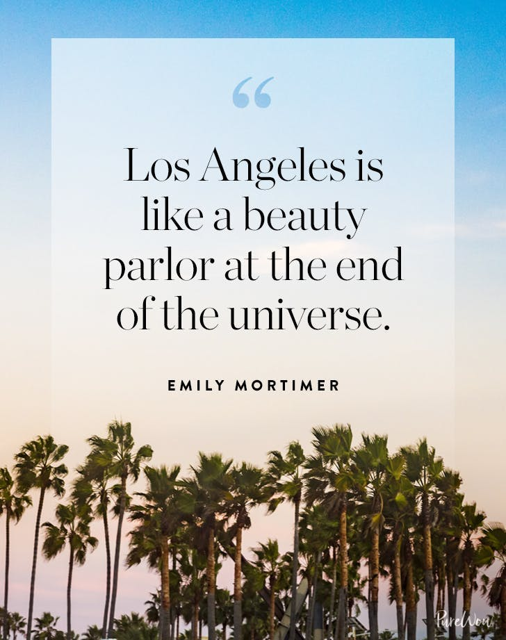 Los Angeles Quotes Emily Mortimer
