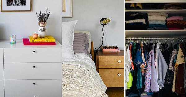 Before & After: How I Added Space to My Teeny Tiny Master Bedroom