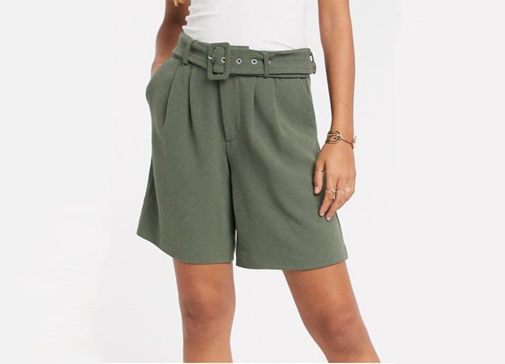 asos vero moda bermuda shorts