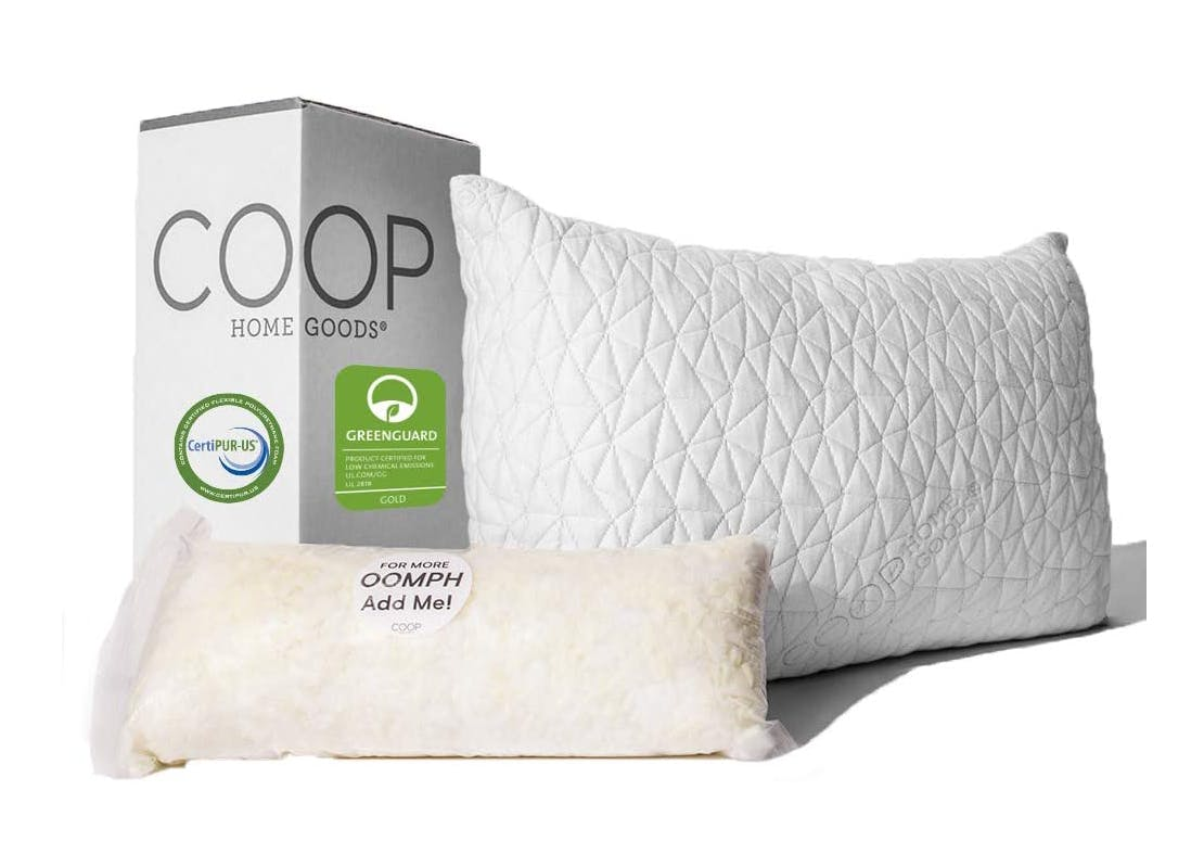 best pillows for back sleepers memory foam