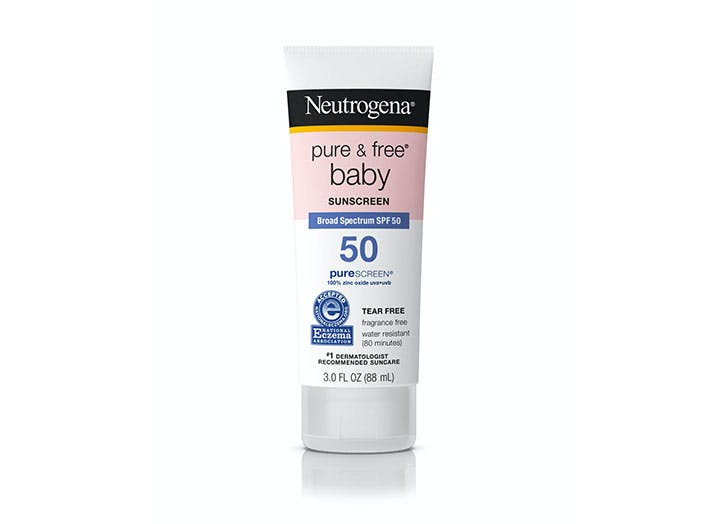 best sunscreen for babies and kids neutrogena