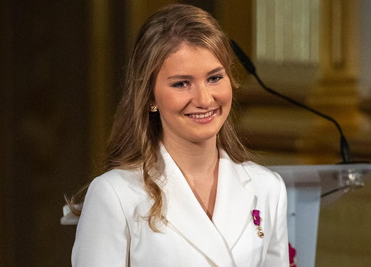 Belgian Royal Family Says Crown Princess Elisabeth Will Make History By Attending the Military Academy this Fall