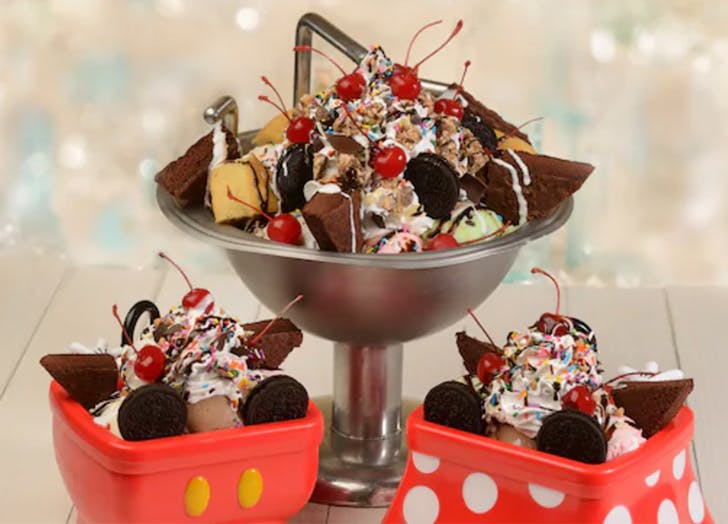 Disney Just Released Its Kitchen Sink Sundae Recipe (and It's Wild)