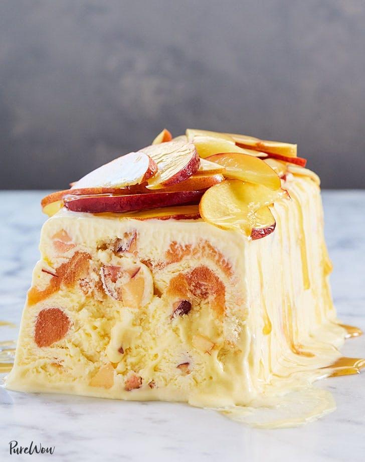frozen desserts peaches and honey semifreddo recipe 921