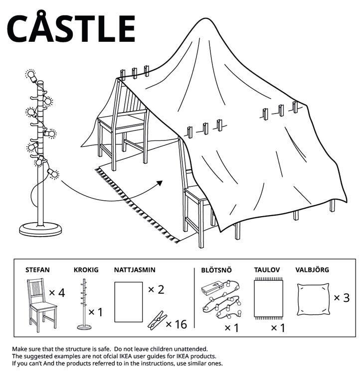 ikea castle